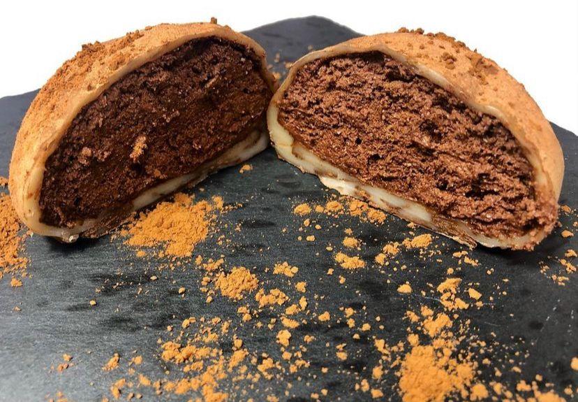 Mochi XXL de mousse de chocolate